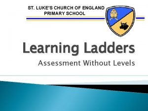 ST LUKES CHURCH OF ENGLAND PRIMARY SCHOOL Learning