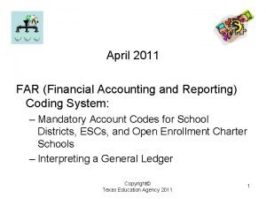 April 2011 FAR Financial Accounting and Reporting Coding
