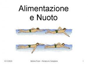 Alimentazione e Nuoto 01122020 Stefano Poser Ranazzura Conegliano