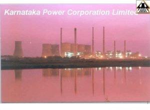Karnataka Power Corporation Limited 1 Hydrothermal mix ALL
