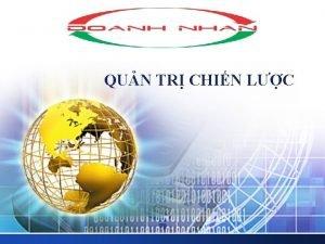 LOGO QUN TR CHIN LC Phng php kho
