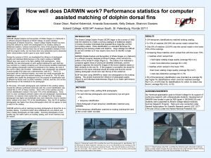 How well does DARWIN work Performance statistics for