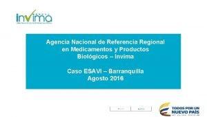 Agencia Nacional de Referencia Regional en Medicamentos y
