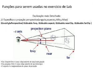 Funes para serem usadas no exerccio de Lab