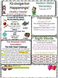 Kindergarten Happenings Madison Station Elementary February 3 rd7