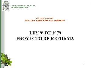 FACULTAD NACIONAL DE SALUD PBLICA UNIVERSIDAD DE ANTIOQUIA