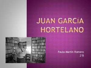Paula Martn Romero 2B Biografa Obras Fragmento Webgrafa