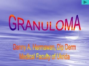 Sinonim Granuloma Venereum Granuloma Inguinale Tropicum Granuloma Donovani