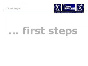 first steps first steps We won All people