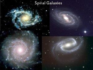 Spiral Galaxies Elliptical Galaxies Irregular Galaxies Classification of