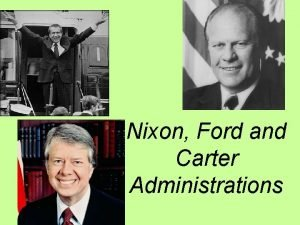 Nixon Ford and Carter Administrations Democratic candidate Hubert