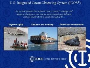 U S Integrated Ocean Observing System IOOS A