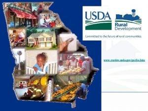 www rurdev usda govgarbs htm USDA RURAL DEVELOPMENT