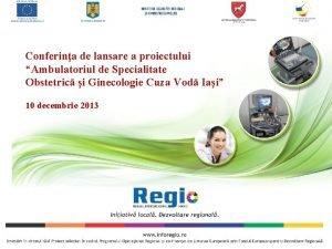 Conferina de lansare a proiectului Ambulatoriul de Specialitate