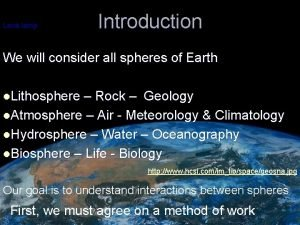 Lava lamp Introduction We will consider all spheres