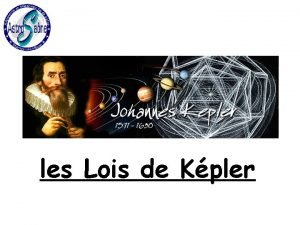 les Lois de Kpler K 1 loi des