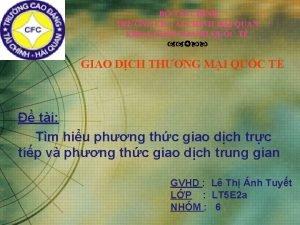 B TI CHNH TRNG C TI CHNH HI