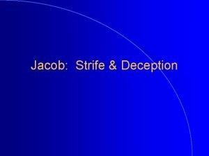 Jacob Strife Deception Jacob Childhood Images Gen 25