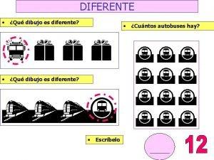 DIFERENTE Qu dibujo es diferente feee Qu dibujo