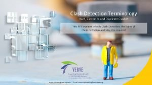Clash Detection Terminology Hard Clearance and Duplicate Clashes