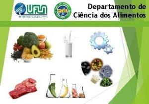Departamento de Cincia dos Alimentos Sumrio Informaes Gerais