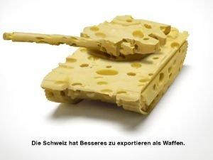 JA zur Volksinitiative fr ein Verbot von KriegsmaterialExporten