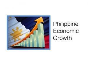 Philippine Economic Growth Erratic Philippine Economic Growth This