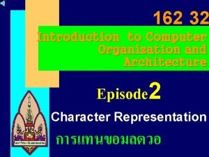 162 32 Introduction to Computer Organization and Architecture