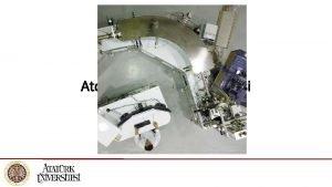 Atomik Ktle Spektroskopisi Atomik Ktle Spektroskopisi alma ilkesi