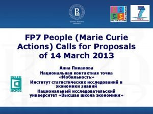 2013 2013 FP 7 PEOPLE2013 IIF 14 2013
