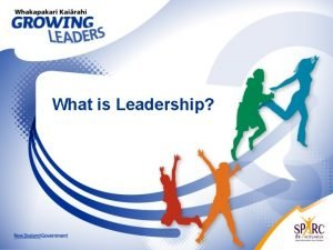 What is Leadership Leadership Key Points Leadership in