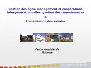 Gestion des ges management et cooprations intergnrationnelles gestion