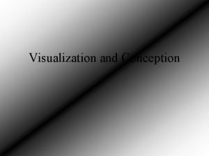 Visualization and Conception Sin City The film Sin