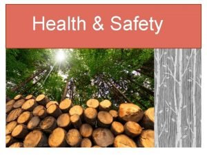 Health Safety With the Grain Health Safety The