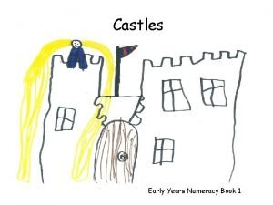 Castles Early Years Numeracy Book 1 Numicon Castles
