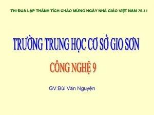 THI UA LP THNH TCH CHO MNG NGY