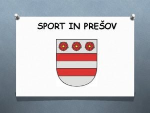 SPORT IN PREOV HANDBALL HT TATRAN PREOV founded