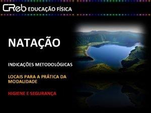 NATAO INDICAES METODOLGICAS LOCAIS PARA A PRTICA DA