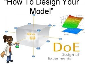How To Design Your Model DOE Software Design