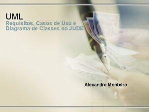 UML Requisitos Casos de Uso e Diagrama de