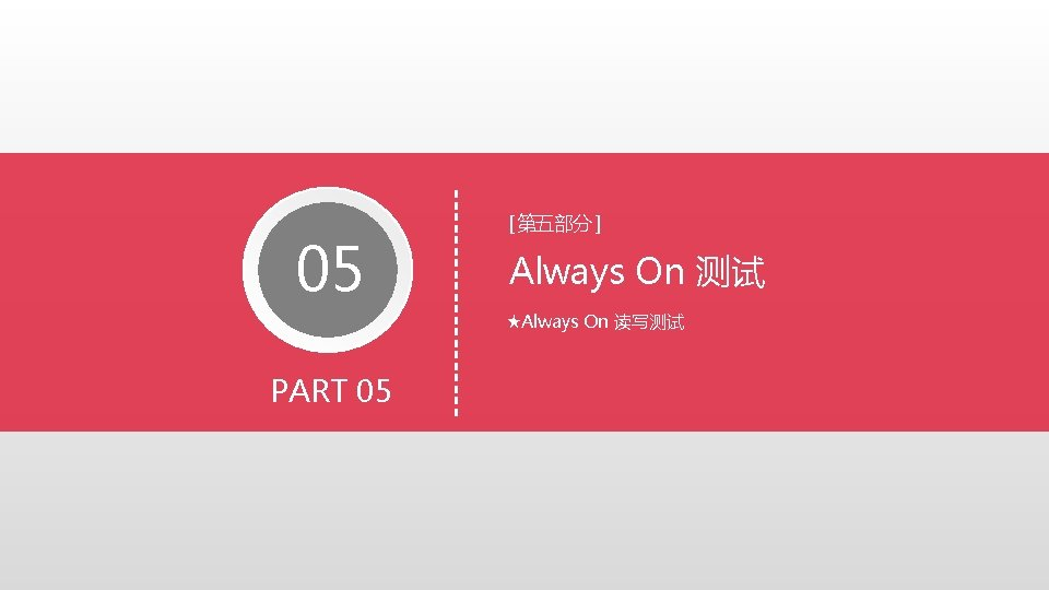 05 Always On Always On PART 05 Always