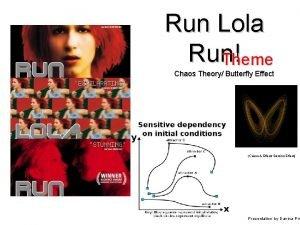 Run Lola Run Theme Chaos Theory Butterfly Effect
