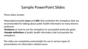 Sample Power Point Slides These slides include Moveableresizable
