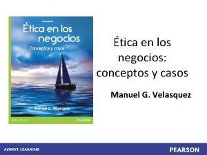 tica en los negocios conceptos y casos Manuel