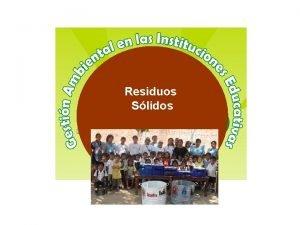 Residuos Slidos Energa Renovable Los residuos slidos en
