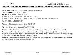 January 2018 doc IEEE 802 15 18 0027