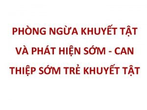 PHNG NGA KHUYT TT V PHT HIN SM