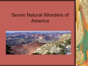 Seven Natural Wonders of America Death Valley California