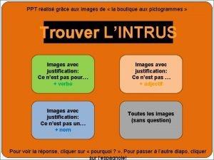 PPT ralis grce aux images de la boutique
