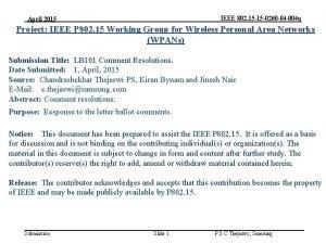 IEEE 802 15 15 0260 04 004 q
